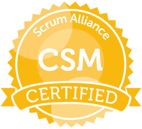 Logo CSM Certified Scrum
